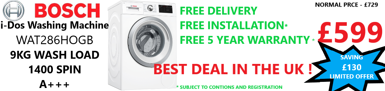 hoover washing machine deal